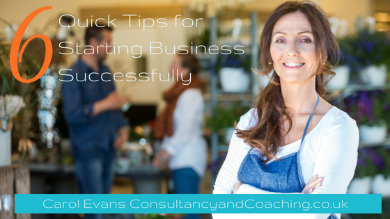 6 Quick Tips for Starting Business Successfully, Consultancy and Coaching