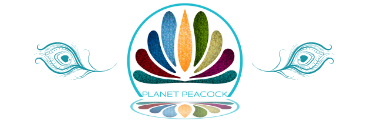 Planet Peacock Logo Separator, Consultancy and Coaching
