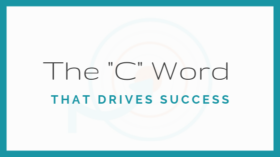 The C Word That Drives Success, Consultancy and Coaching Blog