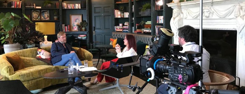 Tim Max Hetherington, Filming, Martin Hulbert and Carol Evans, Grove Hotel